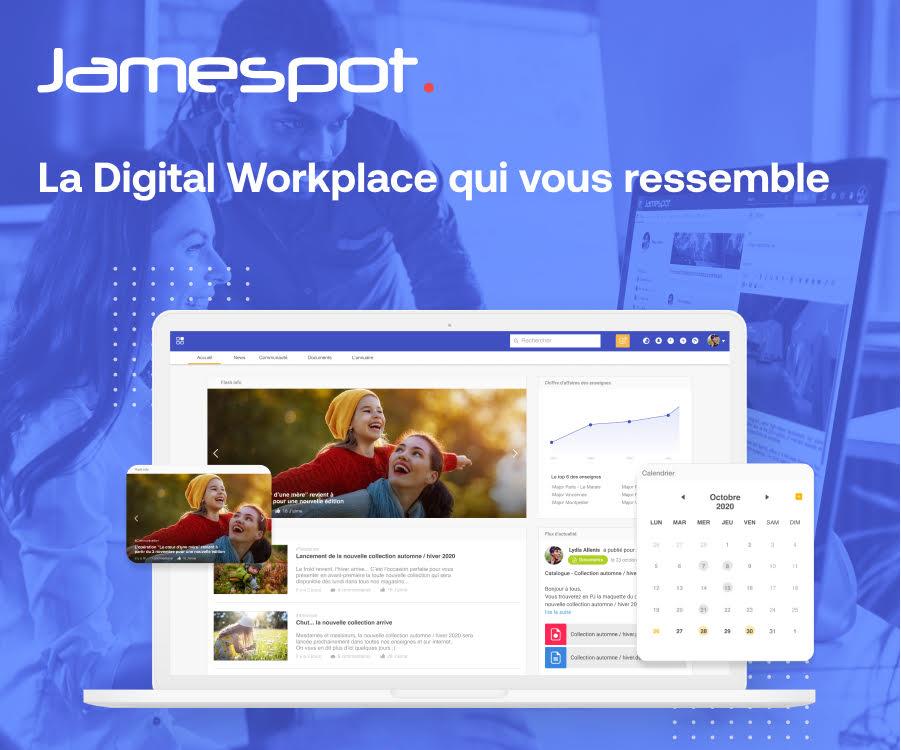 jamespot digital workplace