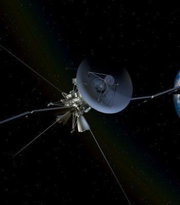 satellite déchets spatiale